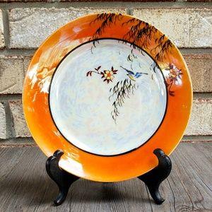 Vintage Peach Lustre Bread Plate - AS-IS